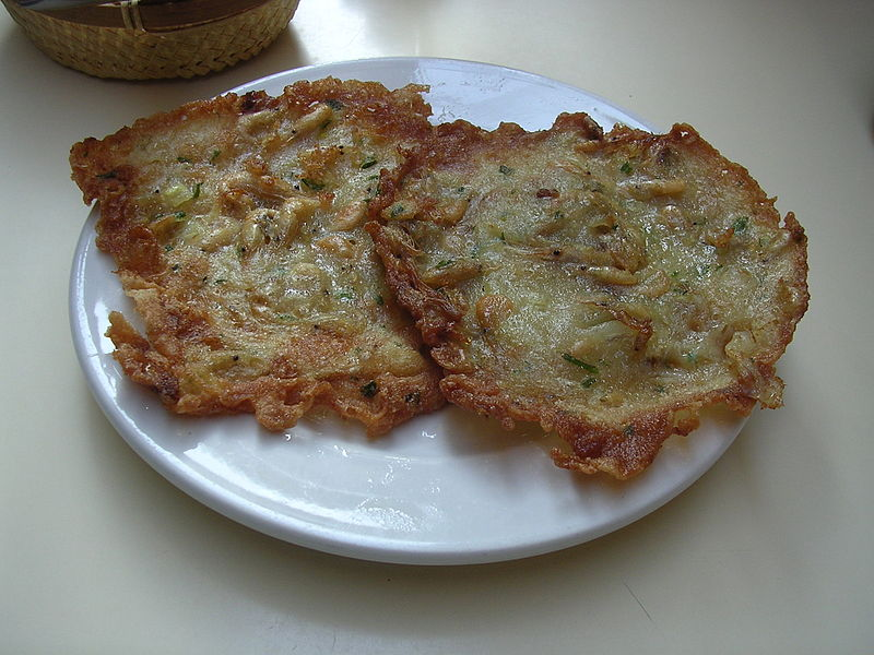 Tortitas de camaron