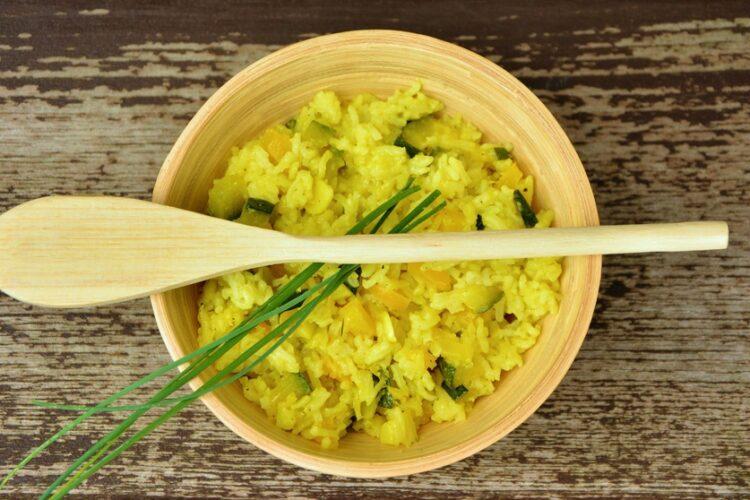 Risotto de curry